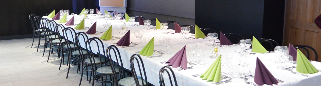 menus de groupes restaurant