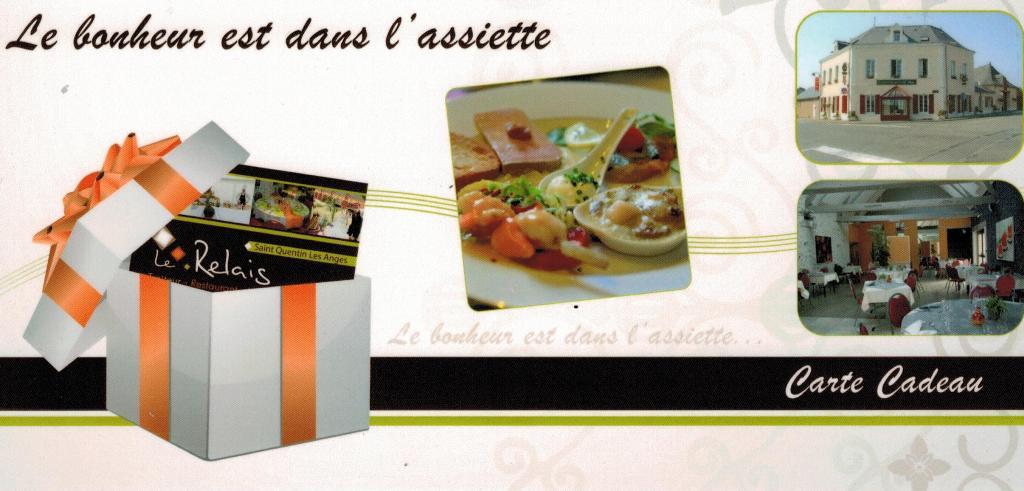 Carte cadeau - Le Relais Restaurant traiteur Hôtel 53